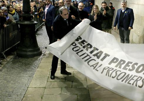 La Junta Electoral inhabilita a Torra y niega a Junqueras el acta de eurodiputado