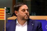 Junqueras en un acto en el Parlamento Europeo en 2017.