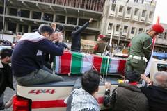"""Multitudinario funeral de Soleimani al grito de """"muerte a EEUU"""""""