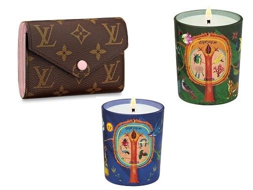 Bandolera mini de Louis Vuitton y velas Diptyque