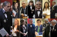 De izquierda a derecha, A. Fonseca, I. Olaizola, J. Montabes, María L. García, V. Sempere, S. del Saz, A. Ferrer, I. Huerta, C. Ramón, E. de Porres, C. Vidal, J. Navarro y J. L. Seoane