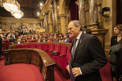 El Parlament rechaza la inhabilitación de Torra y lo ratifica como presidente