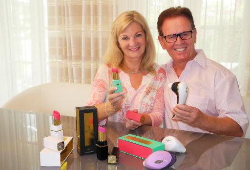 Michael Lenke, el inventor del succionador Womanizer, y su mujer Brigitte.