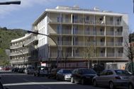 Imagen de una promoción de vivienda pública en Barcelona