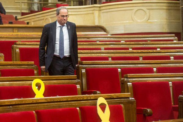 GRAF7277. BARCELONA.- El presidente de la Generalitat Quim...