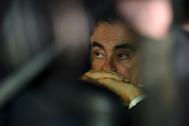 El ex presidente de Nissan, Carlos Ghosn,