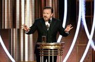 Ricky Gervais, presentador de la gala de los Globos de Oro 2020.