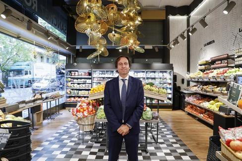 Enric Ezquerra, consejero delegado de los supermercados Sánchez Romero.