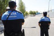 Policías locales de Alcorcón.