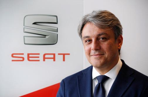 Luca de Meo, desde hoy, ex presidente ejecutivo de Seat.