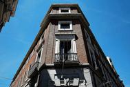 Edificio de La Ingobernable, en el Paseo del Prado