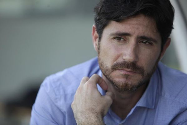 El entrenador del Málaga Víctor Sánchez del Amo