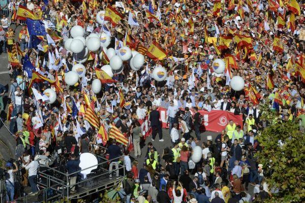 Imagen de archivo de una de las manifestaciones de apoyo al...