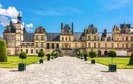 El Palacio de Fontainebleau, en Francia.