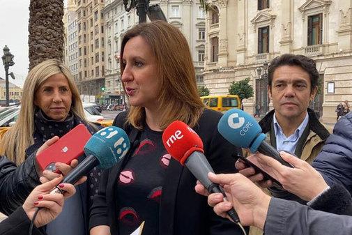 La portavoz del PP de Valencia, María José Catalá.