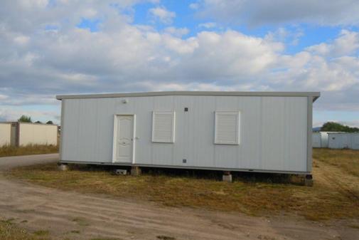 Una de las casas destinadas para acoger refugiados en Madrid
