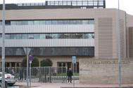 El Palacio de Justicia en Castellón.