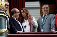 La secretaria general del PSOE-A, Susana Díaz, este martes, en el Congreso.