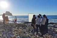 El vídeoclip de Arkano para La Vuelta recorría diferentes escenarios de la provincia, como el peñón de Ifach.