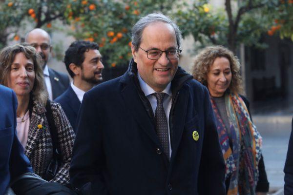 El presidente de Catalu