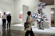 Imagen de la exposición de Jean Dubuffet en el IVAM.