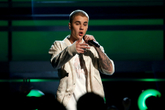 FILE PHOTO: Singer Justin <HIT>Bieber</HIT> performs a medley of songs...