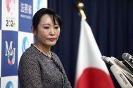 La ministra de Justicia de Japón, Masako Mori.