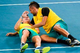 Kyrgios y Australia ya esperan a España en las semifinales de la ATP Cup
