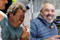 José Carlos Teixeira, el día del accidente del metro y 13 años después.