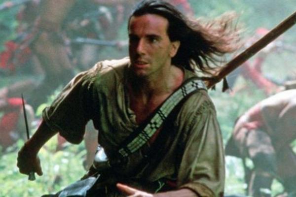 Daniel Day-Lewis, en la película 'El último mohicano' (1992).
