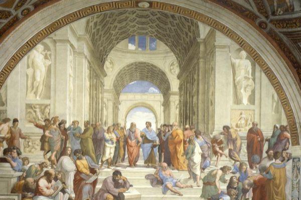 ¿Qué buscará toda esta gente en los cuadros de Rafael?