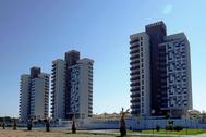 Promoción de viviendas que forman parte de la cartera de Sareb.