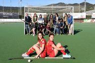 24 Diciembre 2019- Cataluña- Barcelona - Terrassa- Club Hoquei egara- Berta <HIT>Bonastre</HIT> y Carlota Petchamé- Foto MC