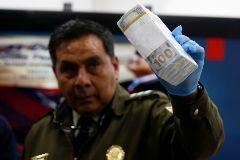 Detenida la secretaria del hombre fuerte de Morales rumbo a Buenos Aires con 100.000 $ de Venezuela