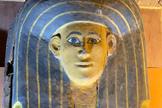 Uno de los ataúdes encontrado en Luxor