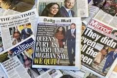 """El príncipe Harry y Meghan Markle desatan una """"guerra civil"""" en la Familia Real"""