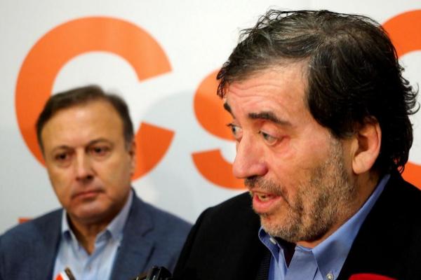 El presidente de la gestora de Ciudadanos, Manuel García Bofill...