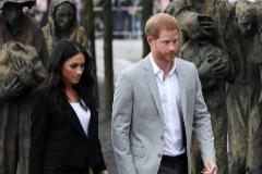 Meghan Markle y el príncipe Harry, en una imagen de archivo.