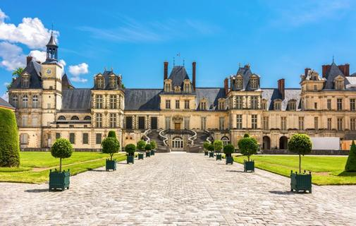 Palacio de Fontainebleau, París, Francia.