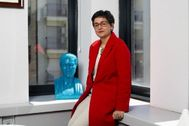 Arancha González Laya, en abril, cuando era directora ejecutiva del Centro de Comercio Internacional del ONU.
