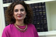 María Jesús Montero, ex ministra de Hacienda y nueva portavoz del Gobierno en el Ejecutivo de coalición.