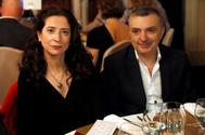Ana Merino y Manuel Vilas, durante la cena de gala del pasado premio Nadal.