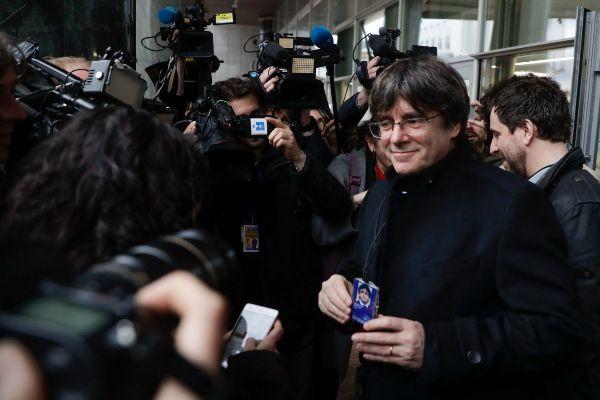 El ex presidente autonómico, Carles Puigdemont.