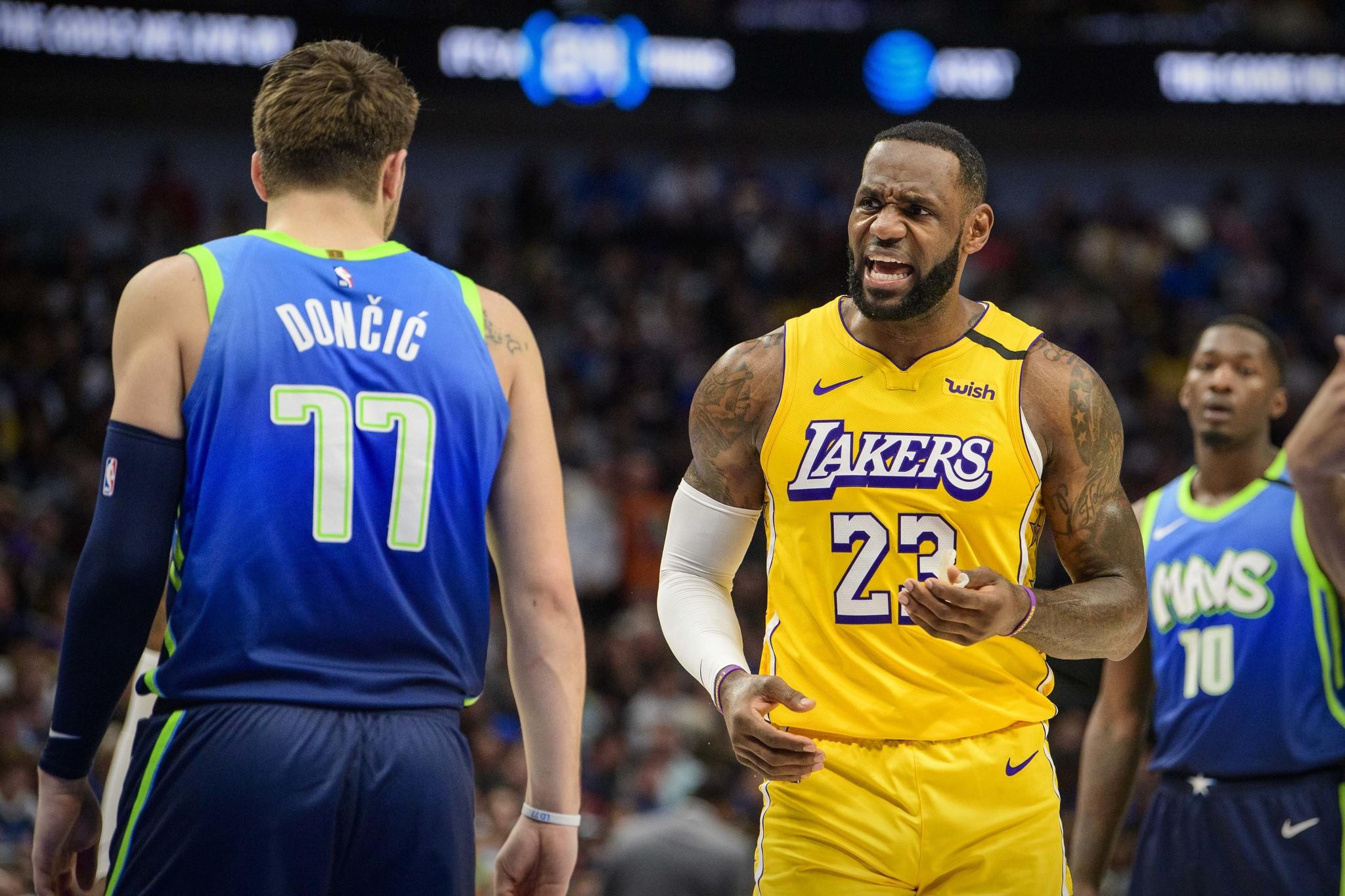 """La desesperación de Doncic ante un descomunal LeBron: """"Me sentía como si no supiese jugar al baloncesto"""""""