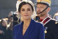 La Reina Letizia en la Pascua Militar.