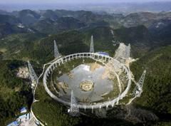 China pone en marcha el radiotelescopio más grande del mundo