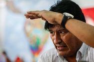 Buenos Aires - BOLIVIA CRISIS - El expresidente de Bolivia <HIT>Evo</HIT> <HIT>Morales</HIT> participa en un acto solidario por el Día de Reyes junto a la comunidad boliviana este lunes, en el barrio de Isla Maciel, en Buenos Aires (Argentina). <HIT>Morales</HIT>, que renunció de manera forzada a la presidencia boliviana después de que el Ejército y la Policía así lo recomendaran, estuvo un mes asilado en México antes de viajar a la Argentina, donde solicitó ser refugiado.