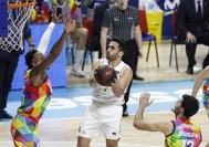 Campazzo, durante el partido contra el Estudiantes.