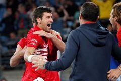La Serbia de Djokovic se impone a España en el dobles y gana la primera edición de la Copa ATP