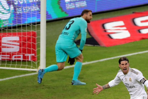 GRAF933. YEDA (ARABIA SAUDÍ).- El capitán del Real Madrid, Sergio...